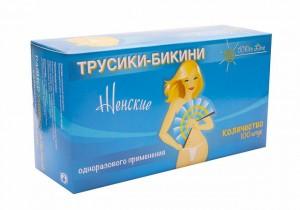 Бикини женские 1 шт/в инд.упаковке