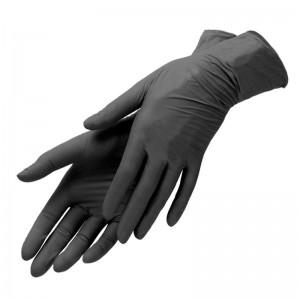 Перчатки Нитриловые Черные «S» (100шт/уп)