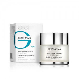 "Крем ночной  Night Cream Supreme ""BIOPLASMA"""